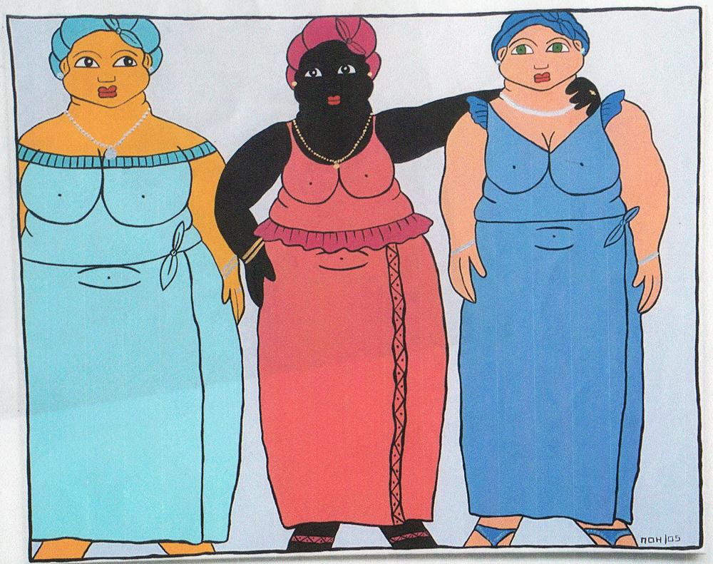 Les 3 grâces Africaines