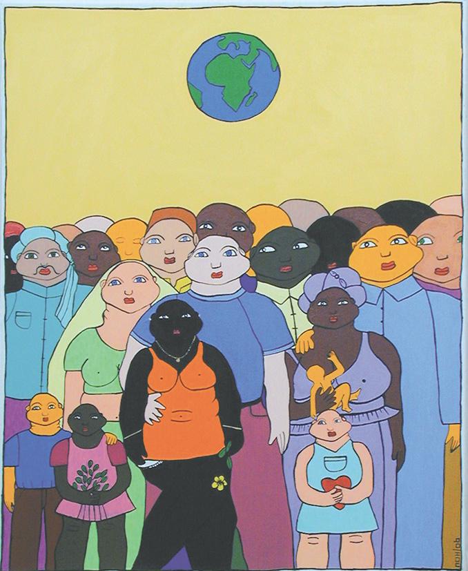 Le monde: vivons en harmonie