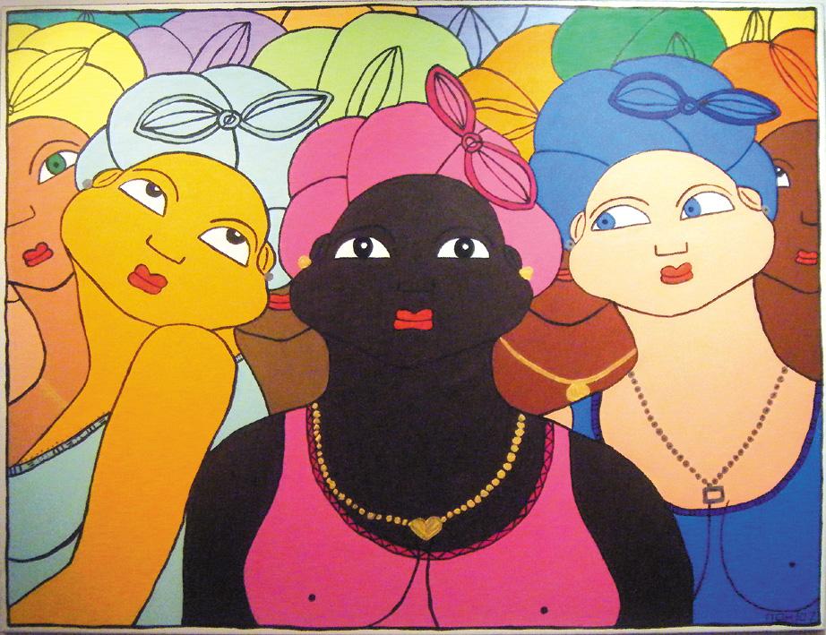 Femmes au foulard