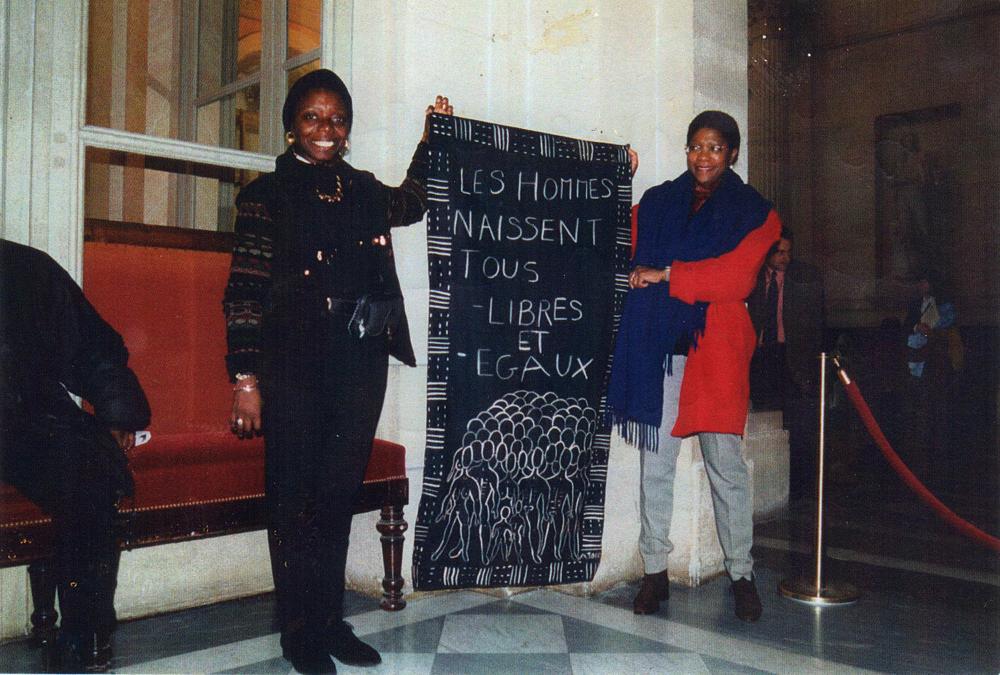 Marie Sabal-Lecco à l'Assemblée Nationale