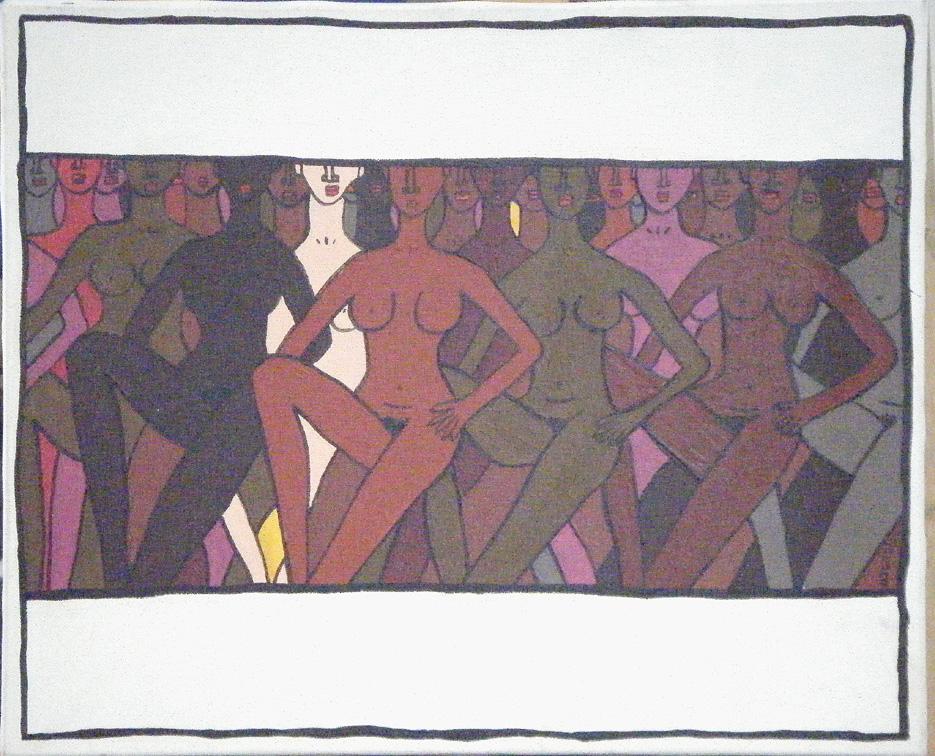 Femmes posant nues