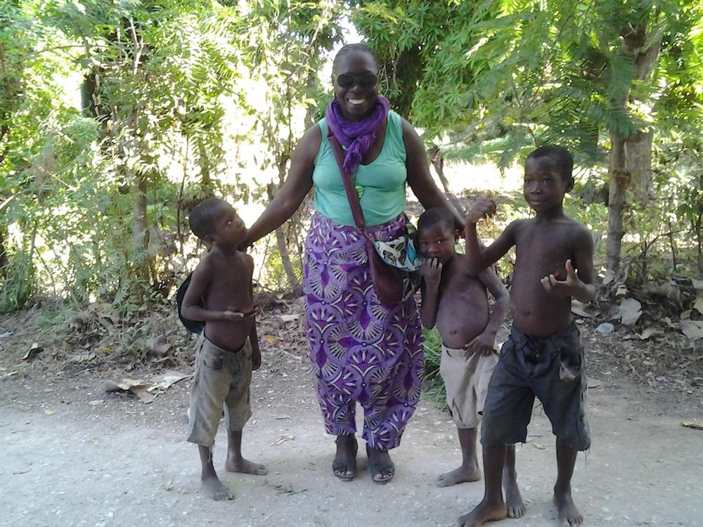LES ENFANTS EN HAITI